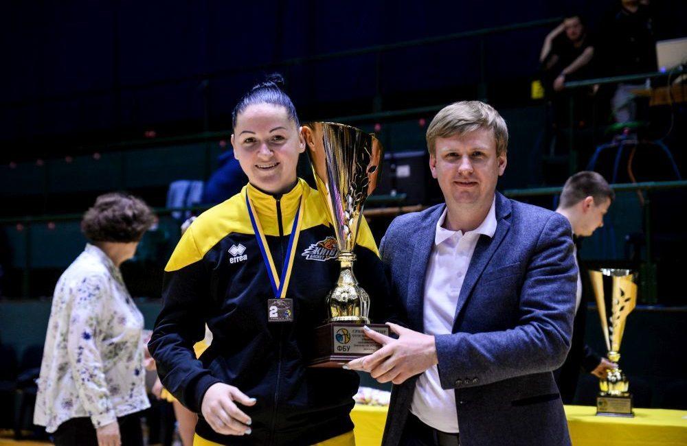 Анна Ольховик пролонгувала контракт з Київ-Баскетом