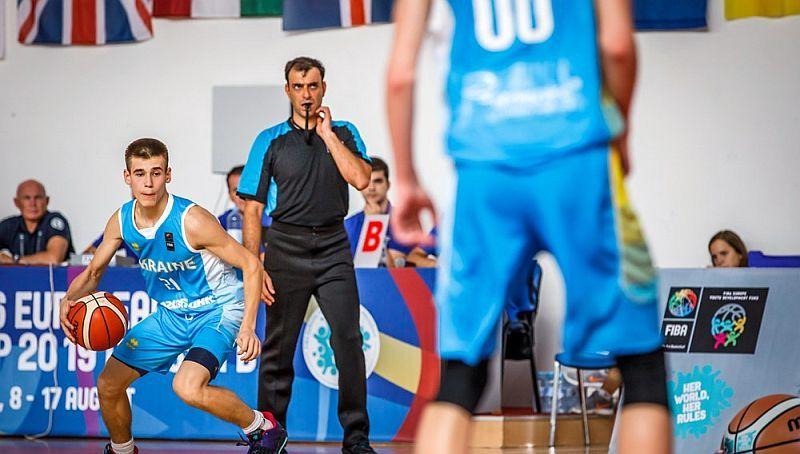 Чоловіча збірна України U-16 перемогла Фінляндію на ЄвроБаскеті
