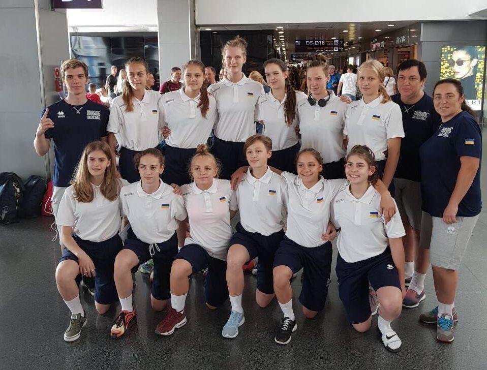 Жіноча збірна України U-15 перемогла Хорватію на Slovenia Ball