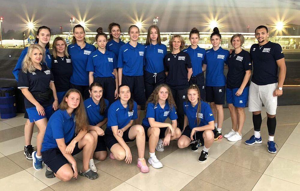 Жіноча збірна України U-16 здобула першу перемогу на ЄвроБаскеті