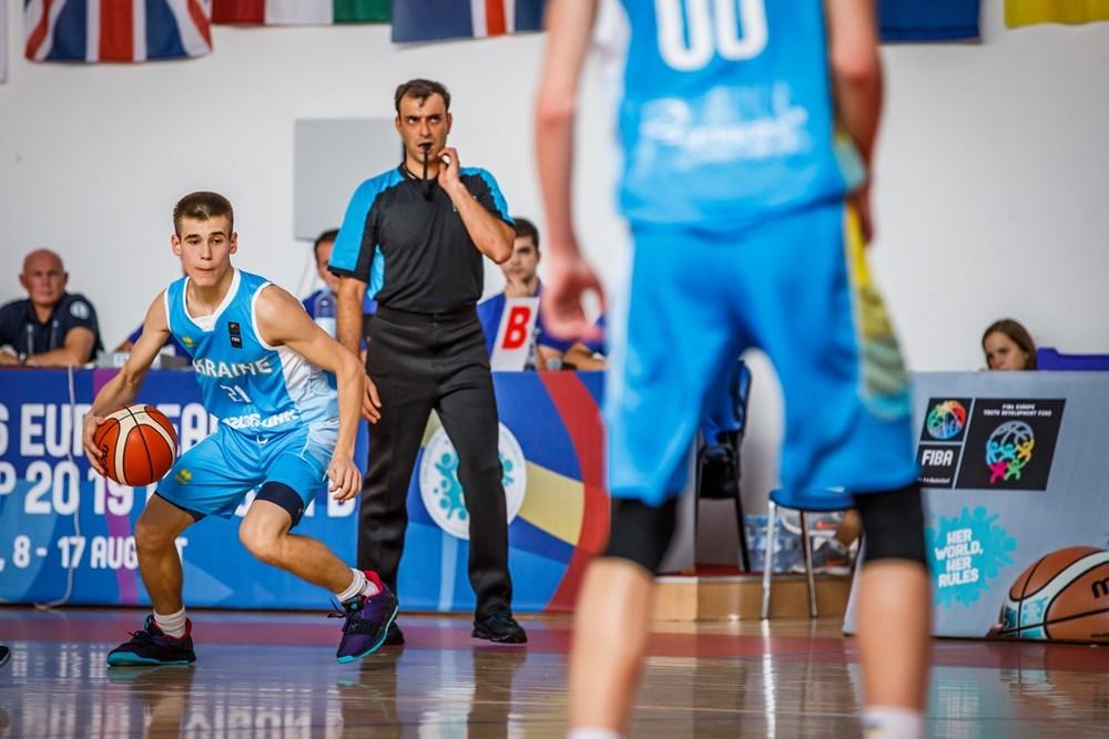 Україна - Велика Британія: відео матчу чемпіонату Європи U-16