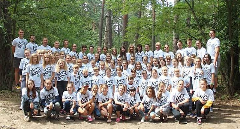 На Житомирщині працює літній табір Let's go