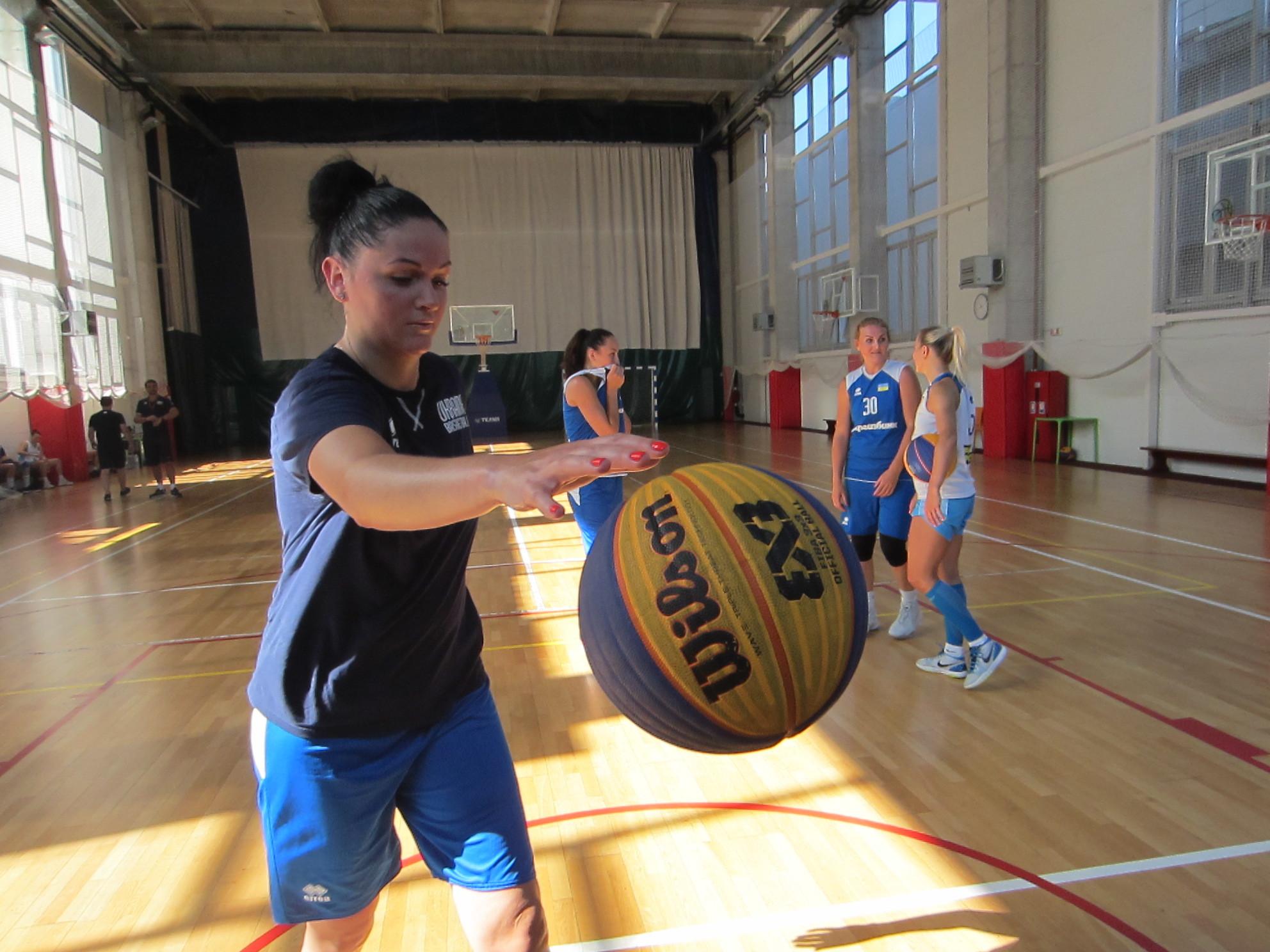 Жіноча збірна України з баскетболу 3х3 готується до Чемпіонату Європи