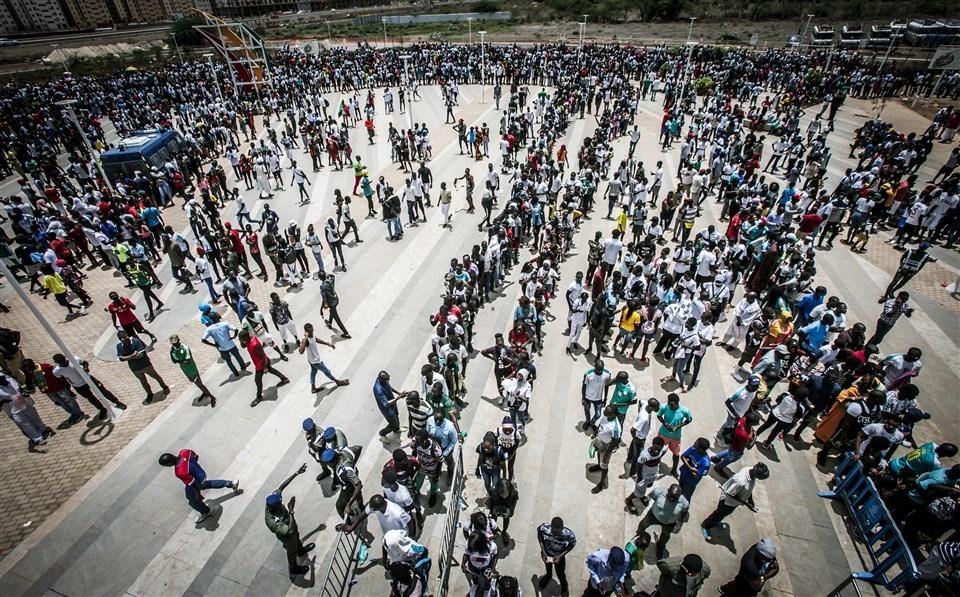 В Африці зафіксовано рекордну кількість вболівальників на баскетбольному матчі: фото