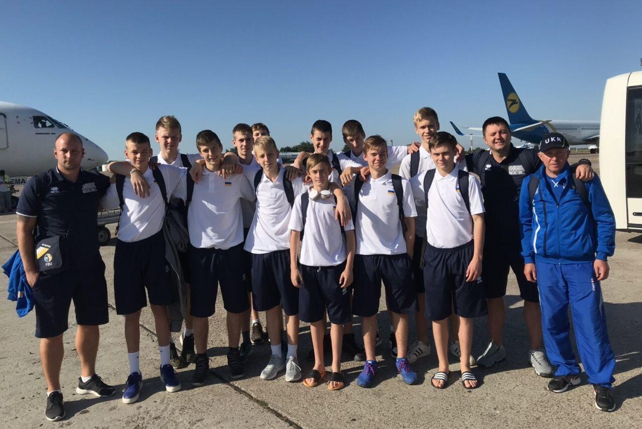 Чоловіча збірна України U-14 вирушила на Slovenia Ball (Оновлено)