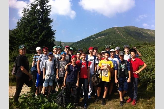 СДЮШОР «Авангард» провела підготовку в Карпатах