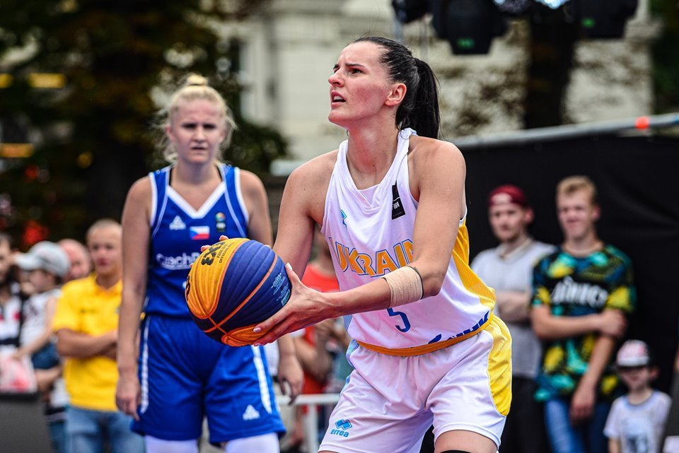 Жіноча збірна України 3х3 (U-23) визначилася зі складом на вирішальні етапи Ліги Націй