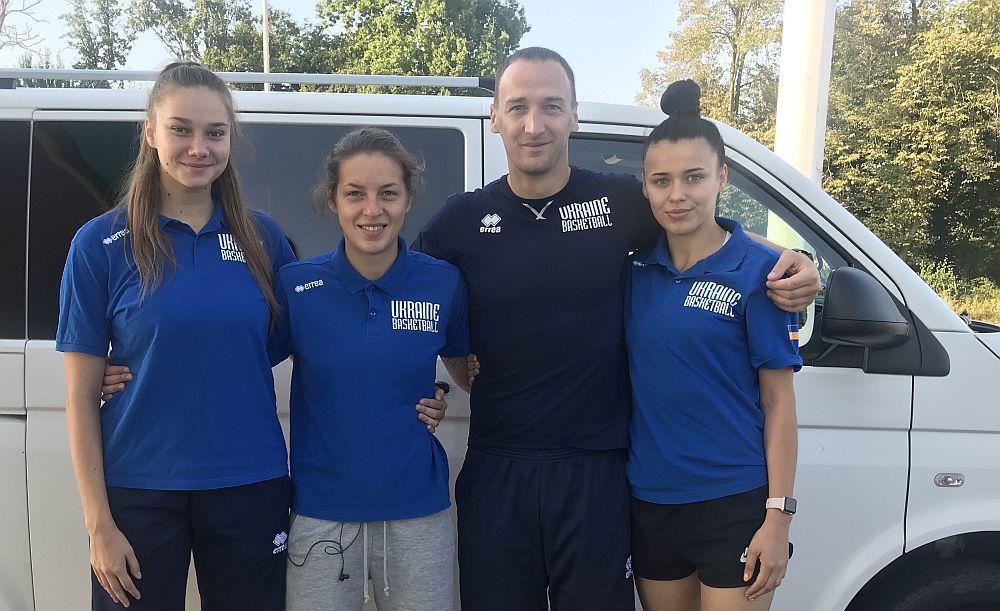 Жіноча збірна України 3х3 (U-23) вирушила на Лігу Націй