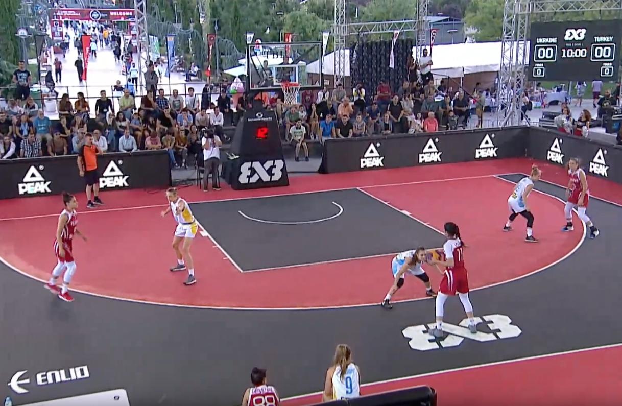 Жіноча збірна України 3х3 не зуміла подолати груповий етап на чемпіонаті Європи U-18
