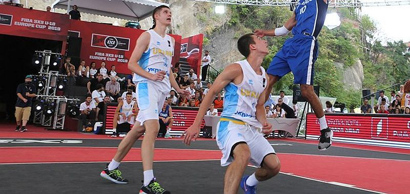 Збірна України U-18 зіграє в чвертьфіналі чемпіонату Європи 3х3