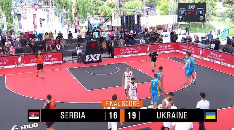 Збірна України U-18 вийшла в півфінал чемпіонат Європи 3х3