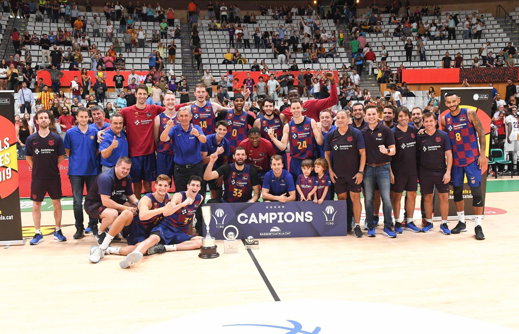 Пустовий виборов з Барселоною перший титул нового сезону