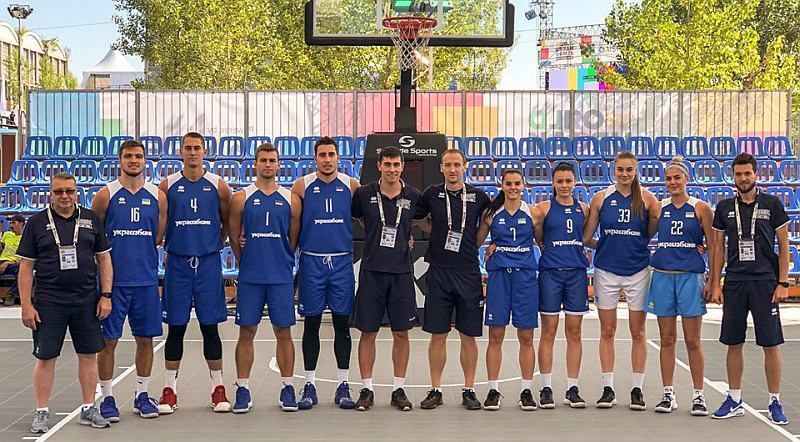 Збірні України зіграють в фіналі Ліги націй 3х3
