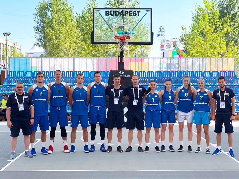 Збірні України отримали суперників по молодіжному чемпіонату світу 3x3