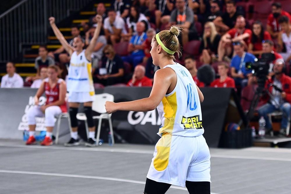 Жіноча збірна України 3х3 вийшла у плей-оф фіналу Ліги Націй