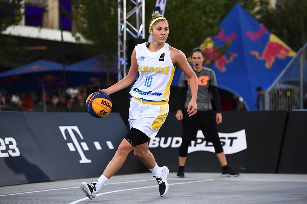 Жіноча збірна України поступилася в чвертьфіналі Ліги націй 3х3