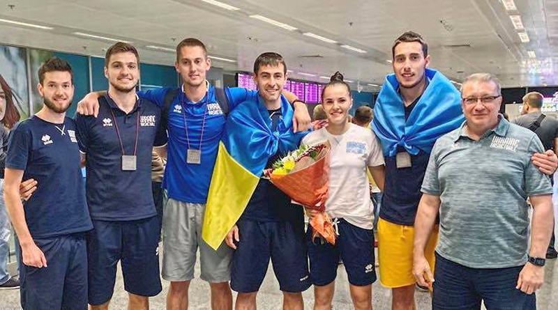 У Києві вітали бронзових призерів Ліги націй 3х3: відео