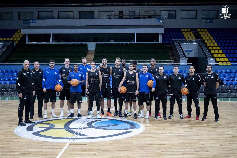 Бургос потренувався у Палаці спорту перед матчем проти Київ-Баскета