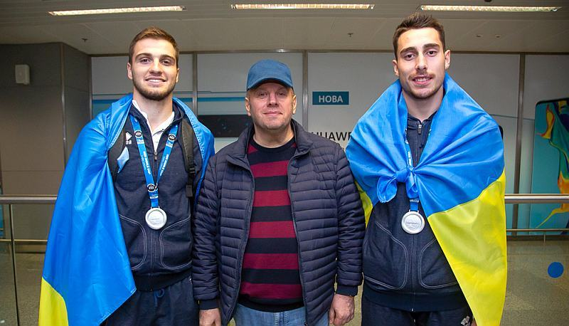У Києві зустріли срібних призерів чемпіонату світу 3х3: фотогалерея