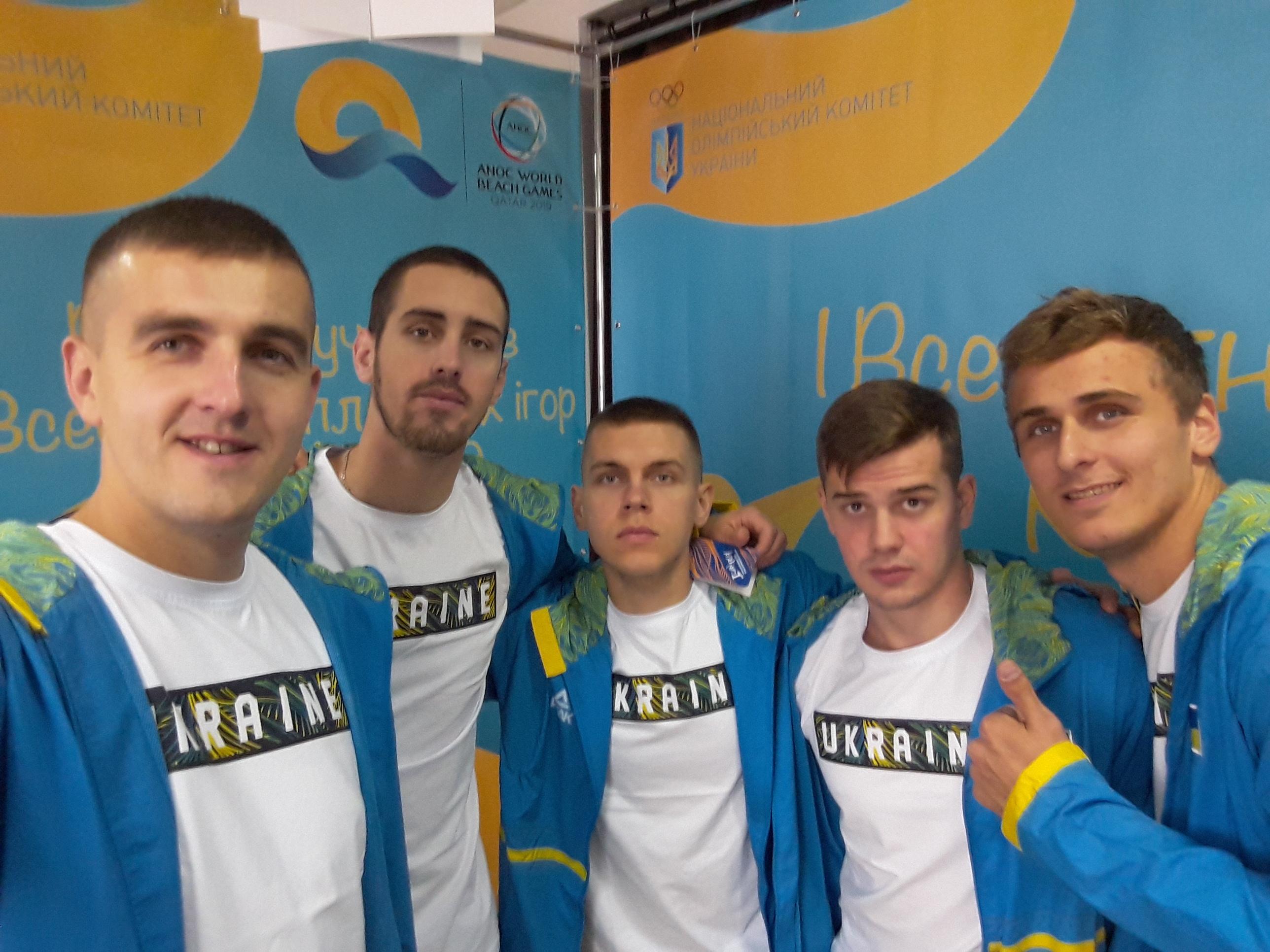 Українські збірні прибули у Доху на Всесвітні пляжні ігри
