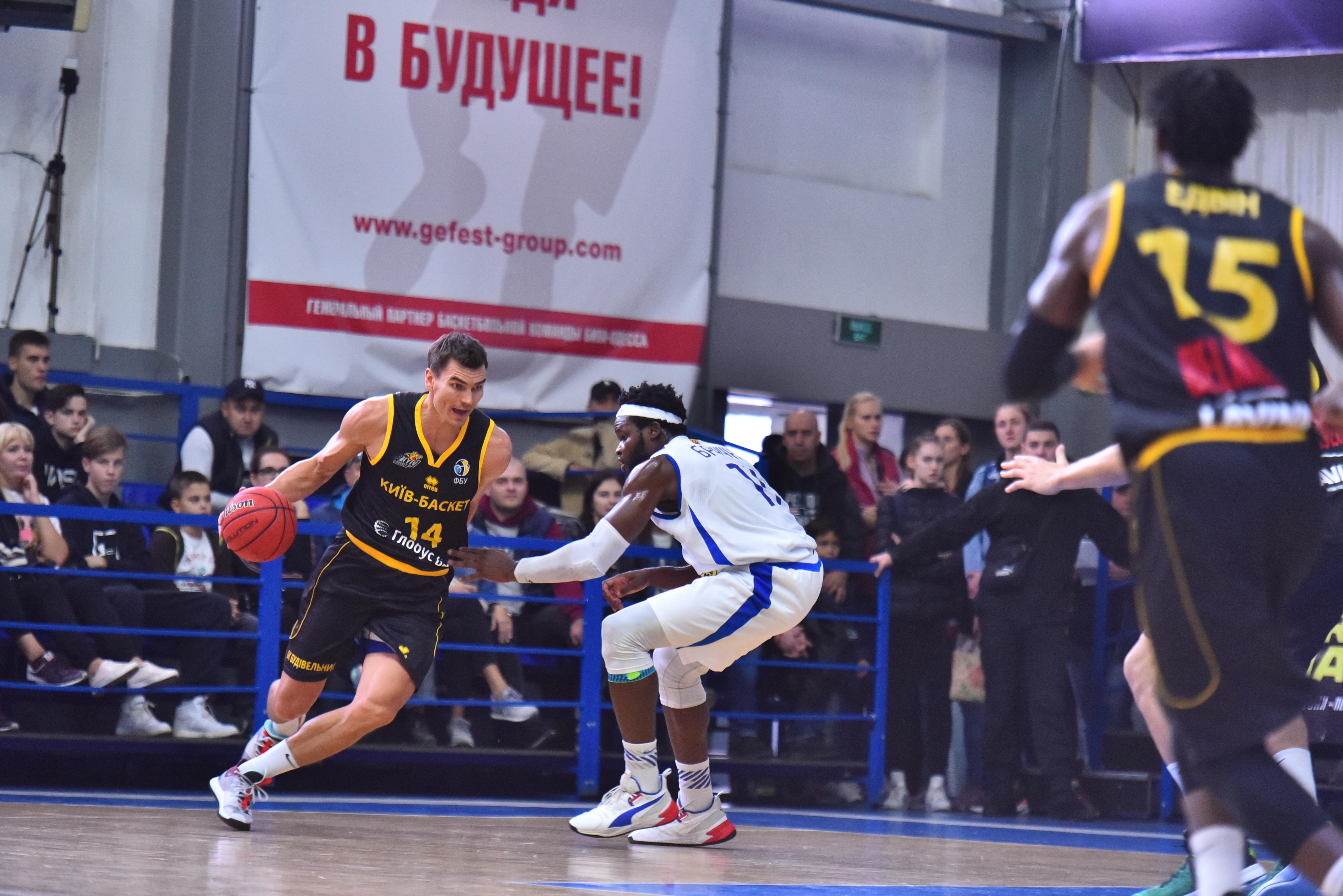 Одесити у матчі з Київ-Баскетом показали найгіршу результативність у сезоні