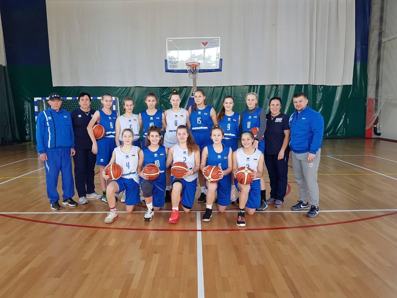 Збірна України-2005 відправилась на тур Європейської ліги в Словаччину