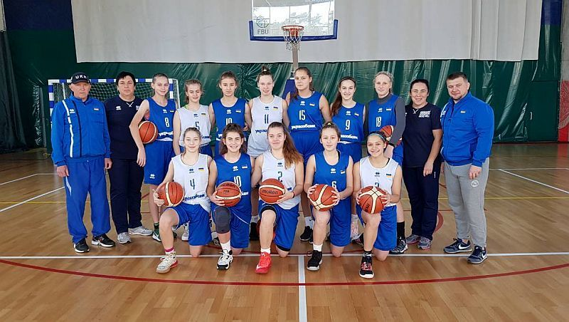 Жіноча збірна України U-15 виступила на етапі юнацької Євроліги