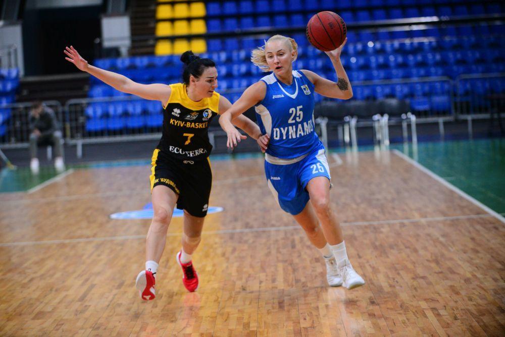 Жіноча Суперліга: Київ-Баскет переміг Динамо у столичному дербі