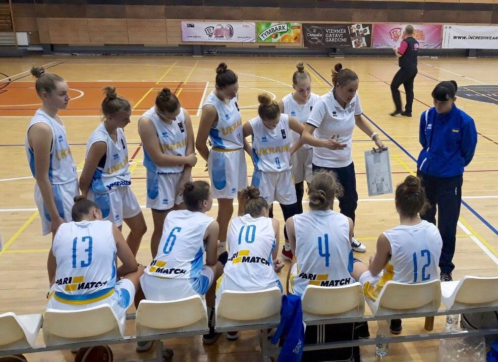 Кадетська збірна України поступилася на старті турніру у Латвії
