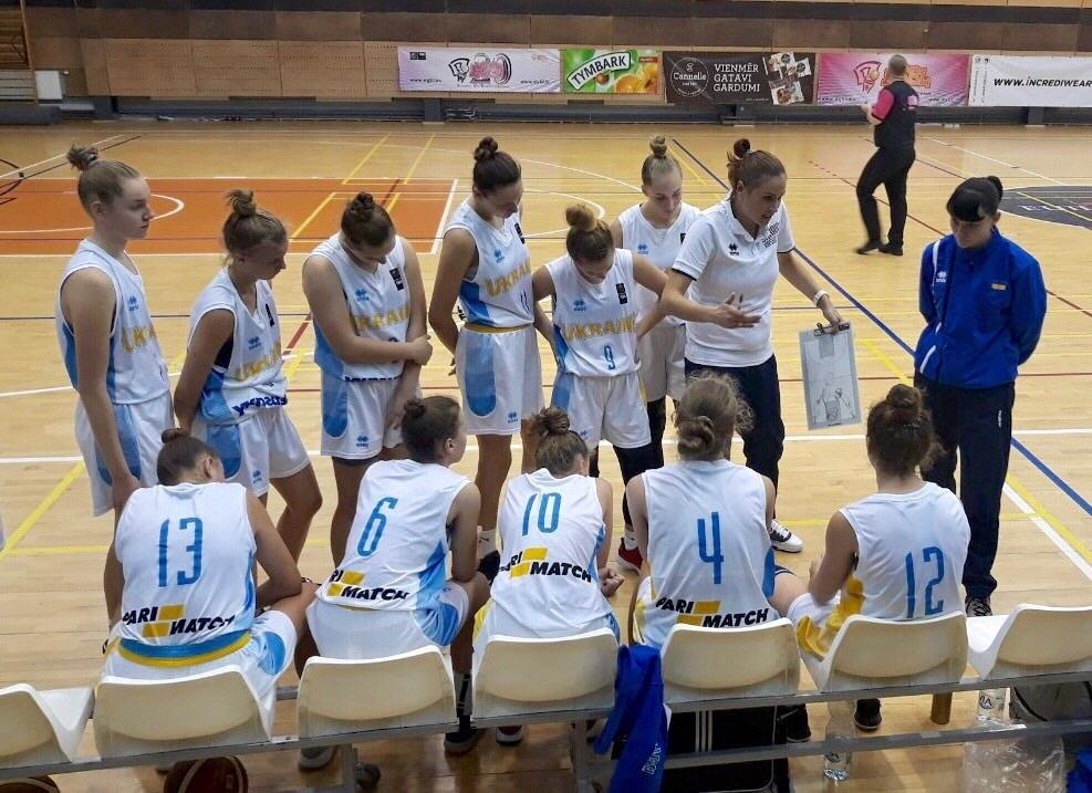 Жіноча збірна України U-16 зіграла на етапі ЄЮБЛ
