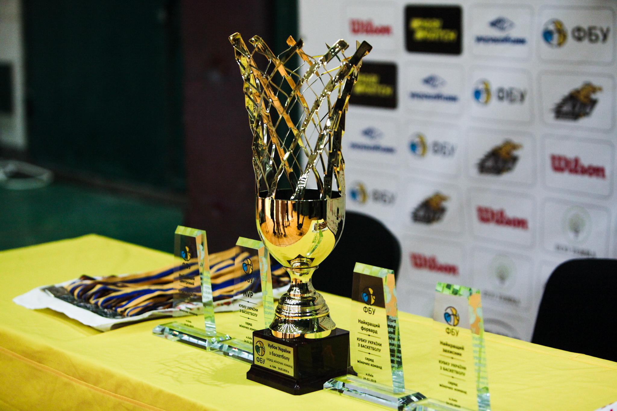 31 жовтня жеребкування Кубку України серед жіночих команд