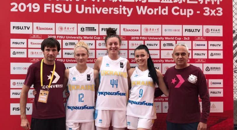 Жіноча збірна України 3х3 вийшла у чвертьфінал студентського Кубку світу