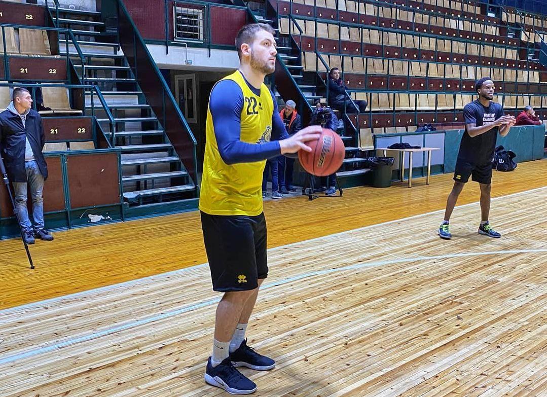 Київ-Баскет провів відкрите тренування перед матчем Кубка Європи