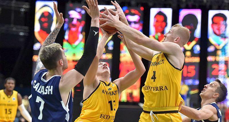 Київ-Баскет поступився в домашньому матчі Кубка Європи ФІБА: фотогалерея