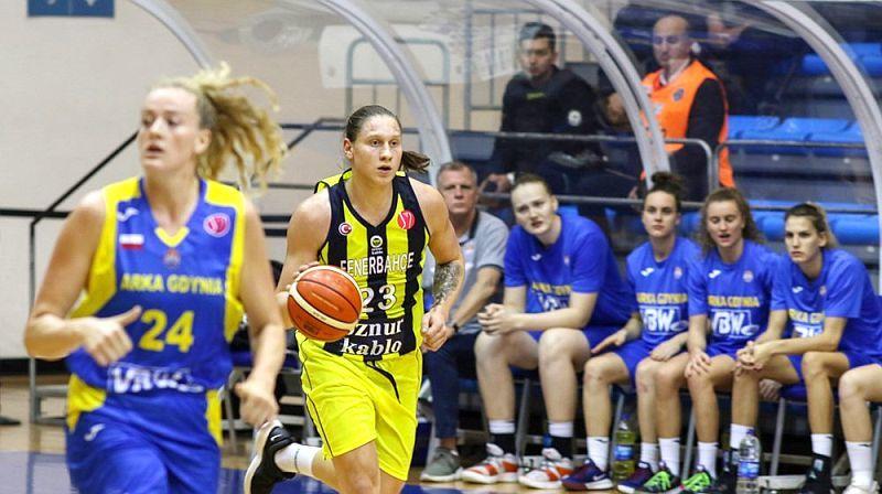 Українка Ягупова ввійшла в збірну тижня Євроліги