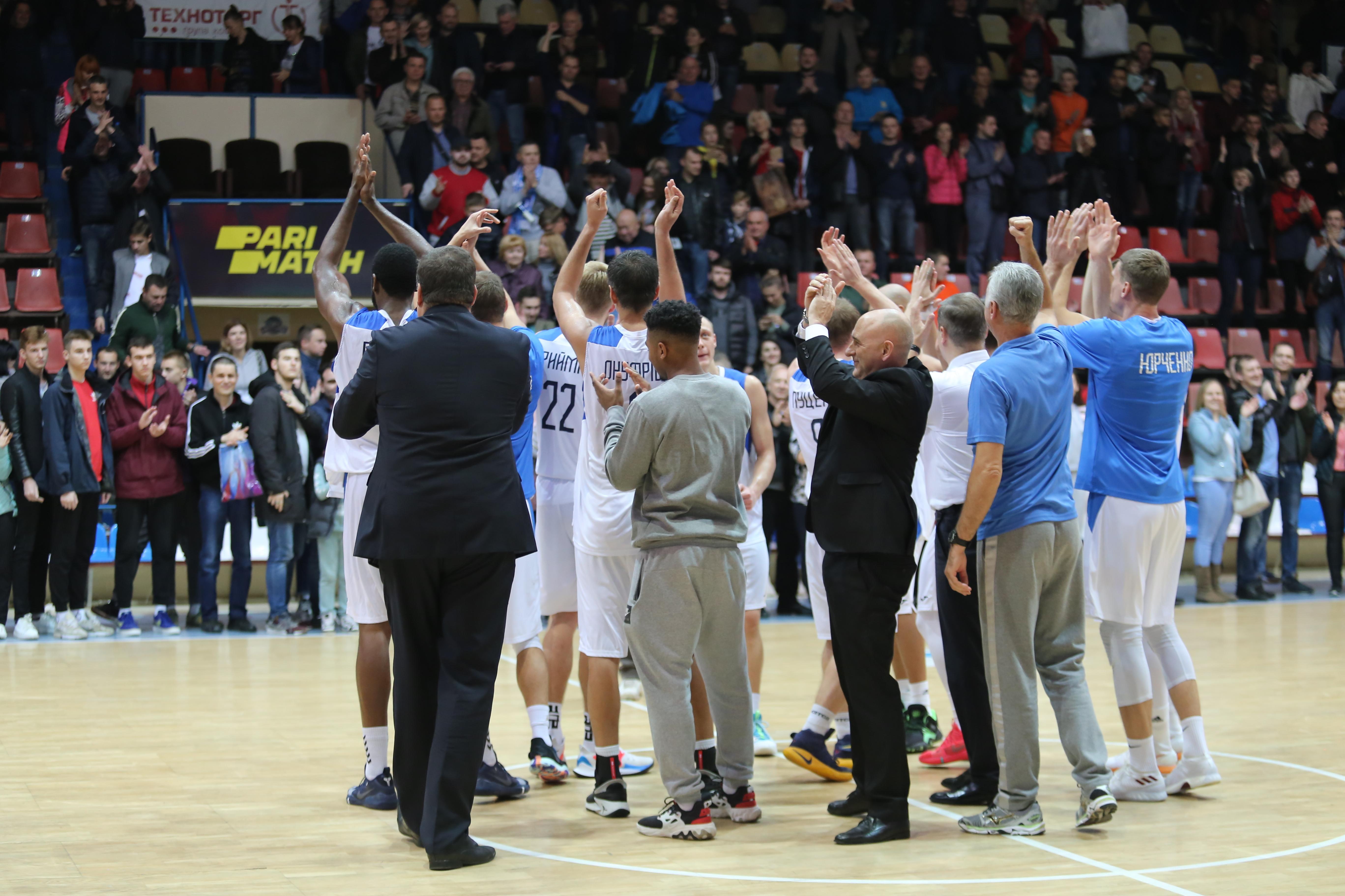 Миколаїв вдома переміг Київ-Баскет: відео коментарів після гри