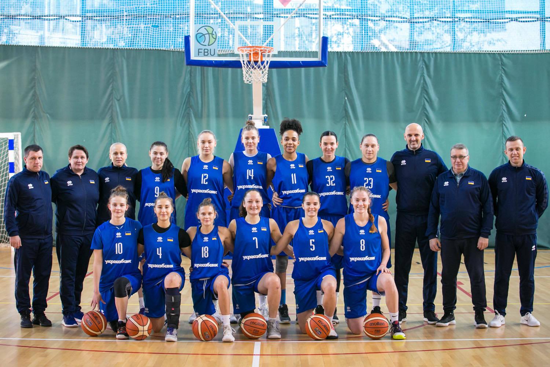 Оголошено 12 гравчинь збірної України на матчі із Бельгією і Португалією