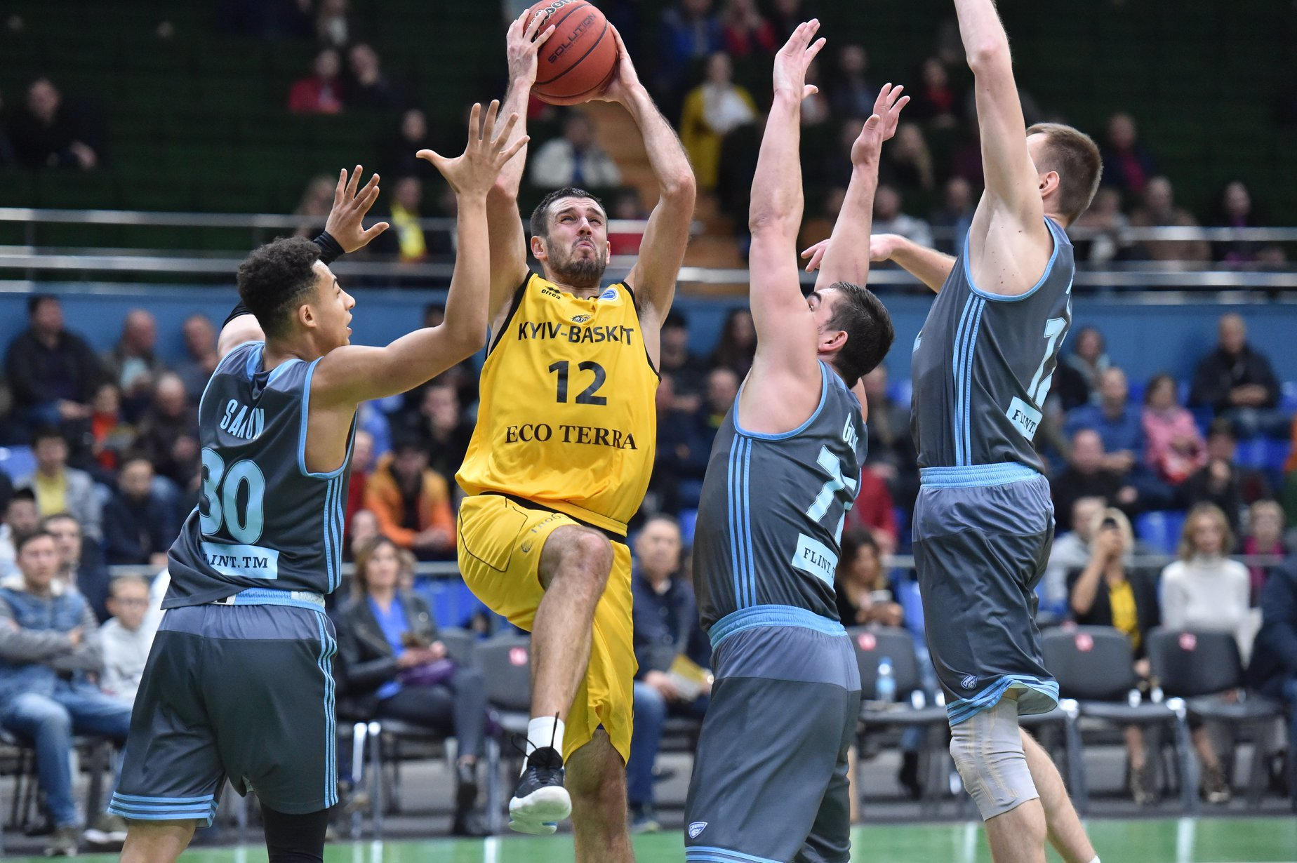 Дніпро та Київ-Баскет знову зіграють на євроарені: анонс матчу Кубка Європи FIBA