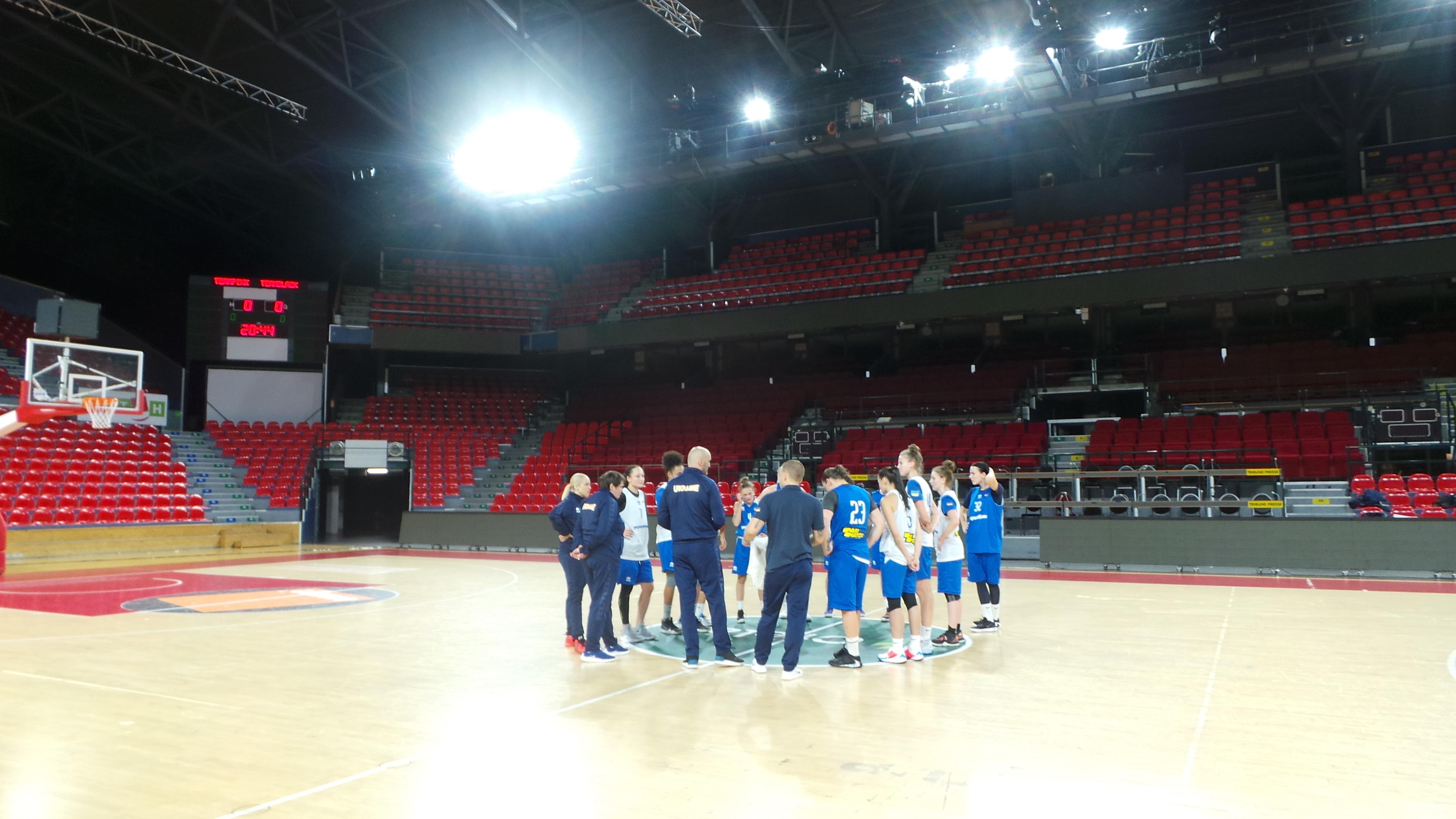 Збірна України провела тренування в Бельгії перед стартом у відборі на Євробаскет-2021