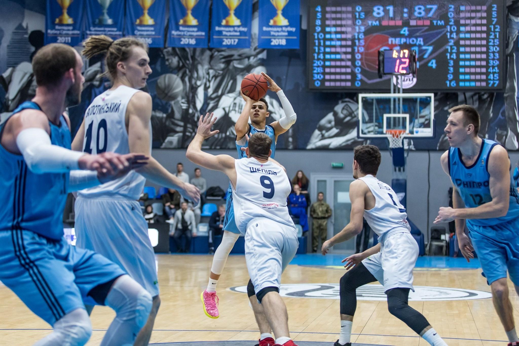 1/8 фіналу Кубка України: Дніпро — Ніко-Баскет: відеотрансляція