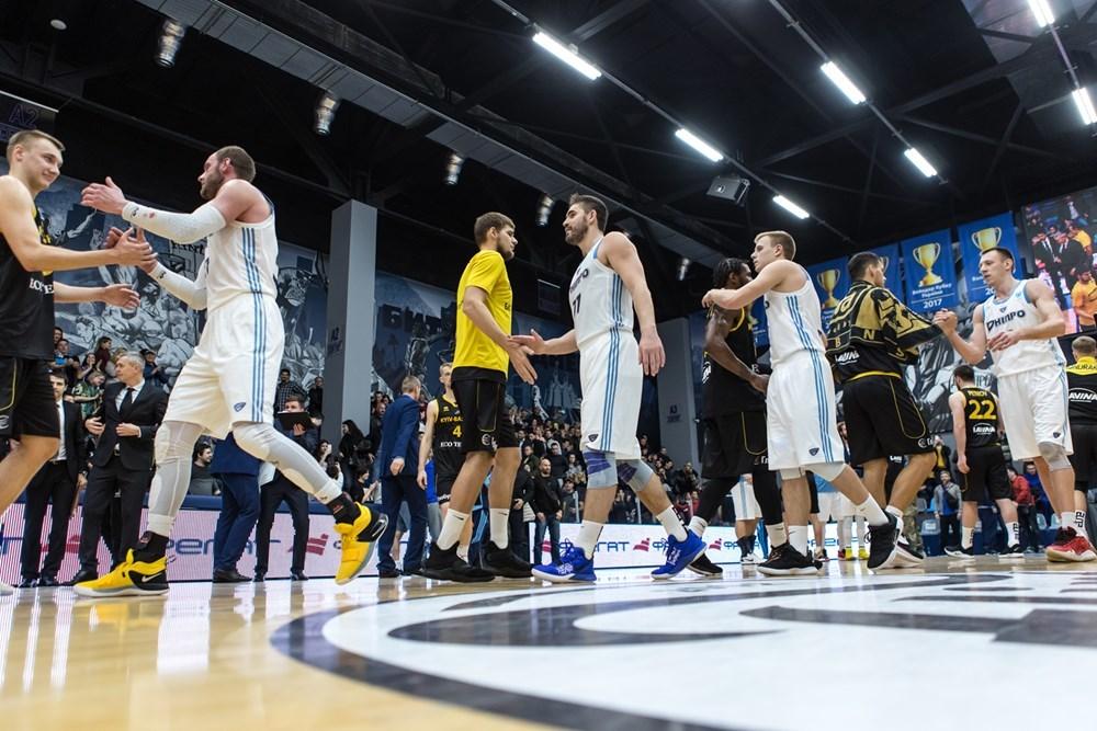 Київ-Баскет та Дніпро проведуть домашні матчі у Кубку Європи FIBA: ситуація в групі