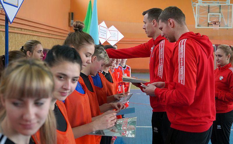 У Кам'янському стартувала міська баскетбольна першість серед юнаків