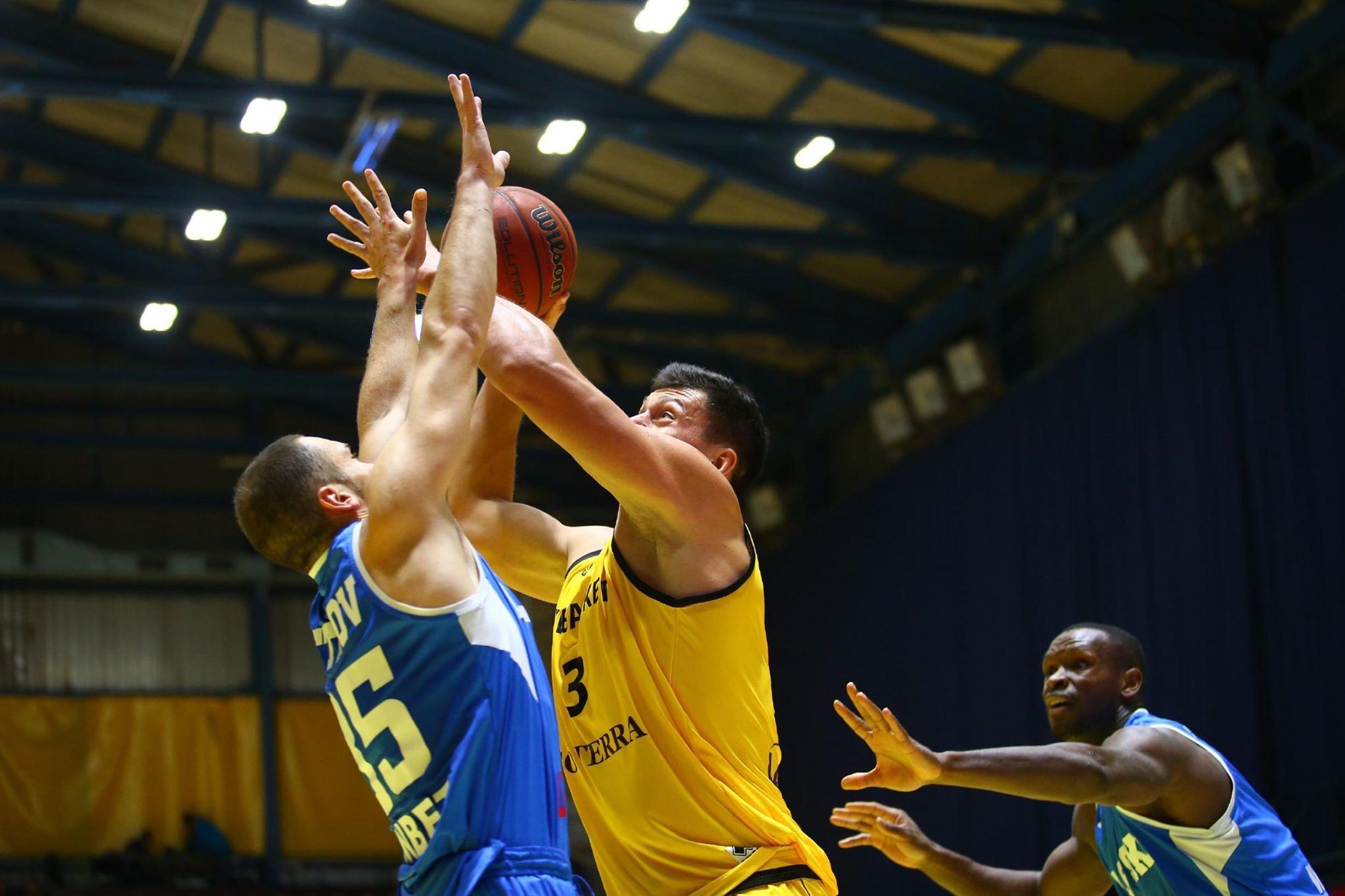 Київ-Баскет виграв третій матч в Кубку Європи ФІБА