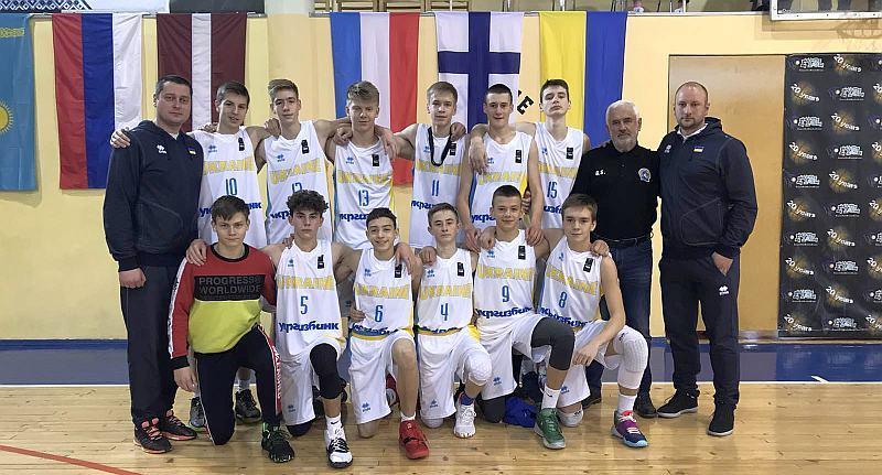 Чоловіча збірна U-15 виступила на етапі ЄЮБЛ