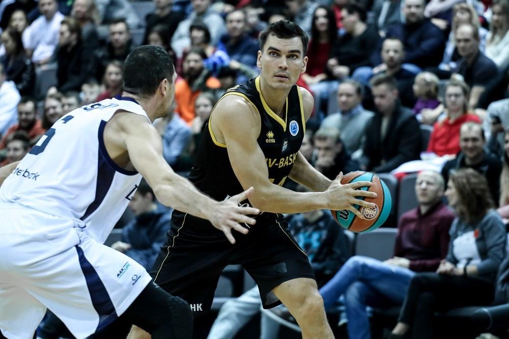 Київ-Баскет в овертаймі взяв вольовий реванш у Цмокі-Мінська і вийшов з групи з першого місця