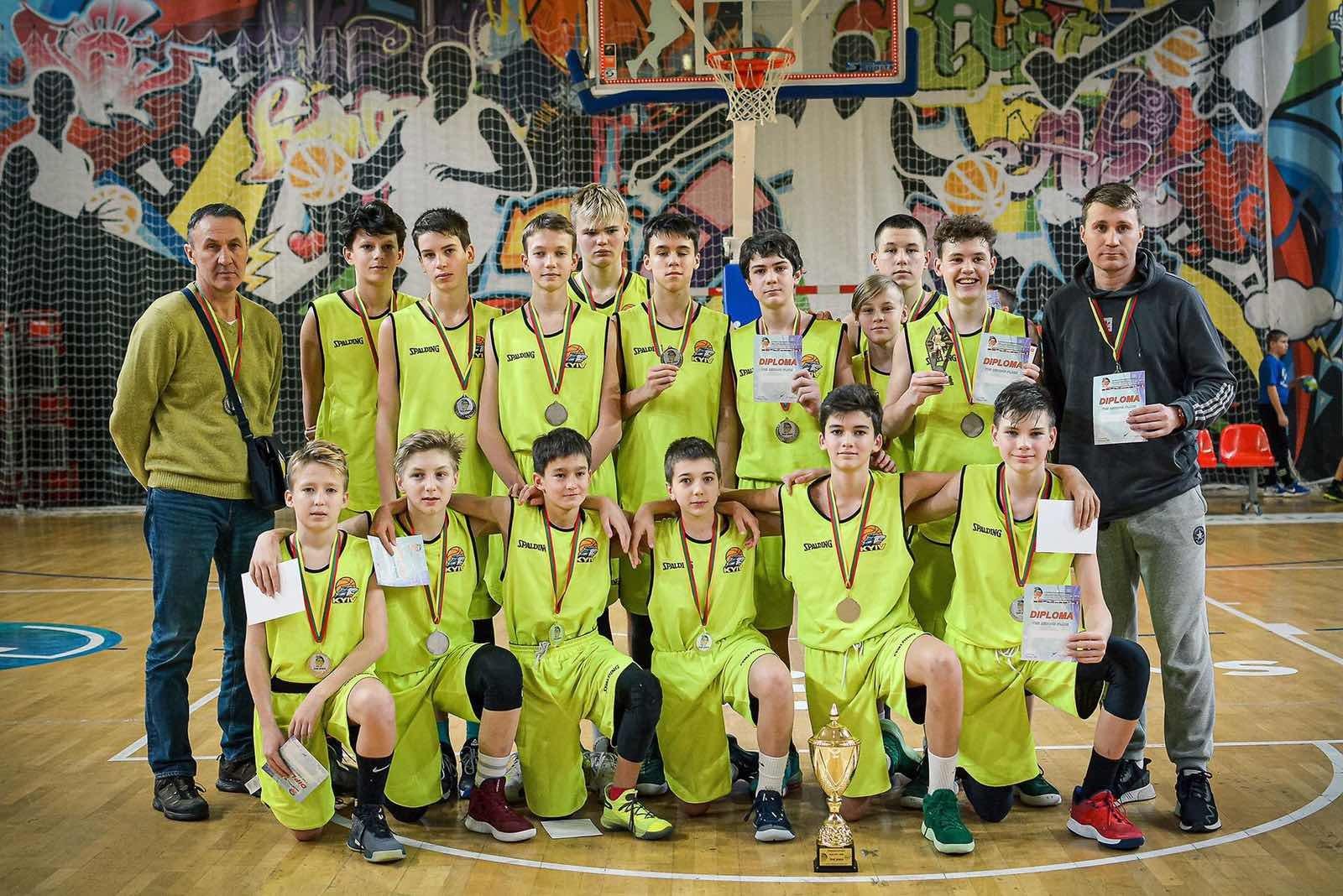 Українська команда хлопців 2006 року народження посіла друге місце на турнірі у Литві