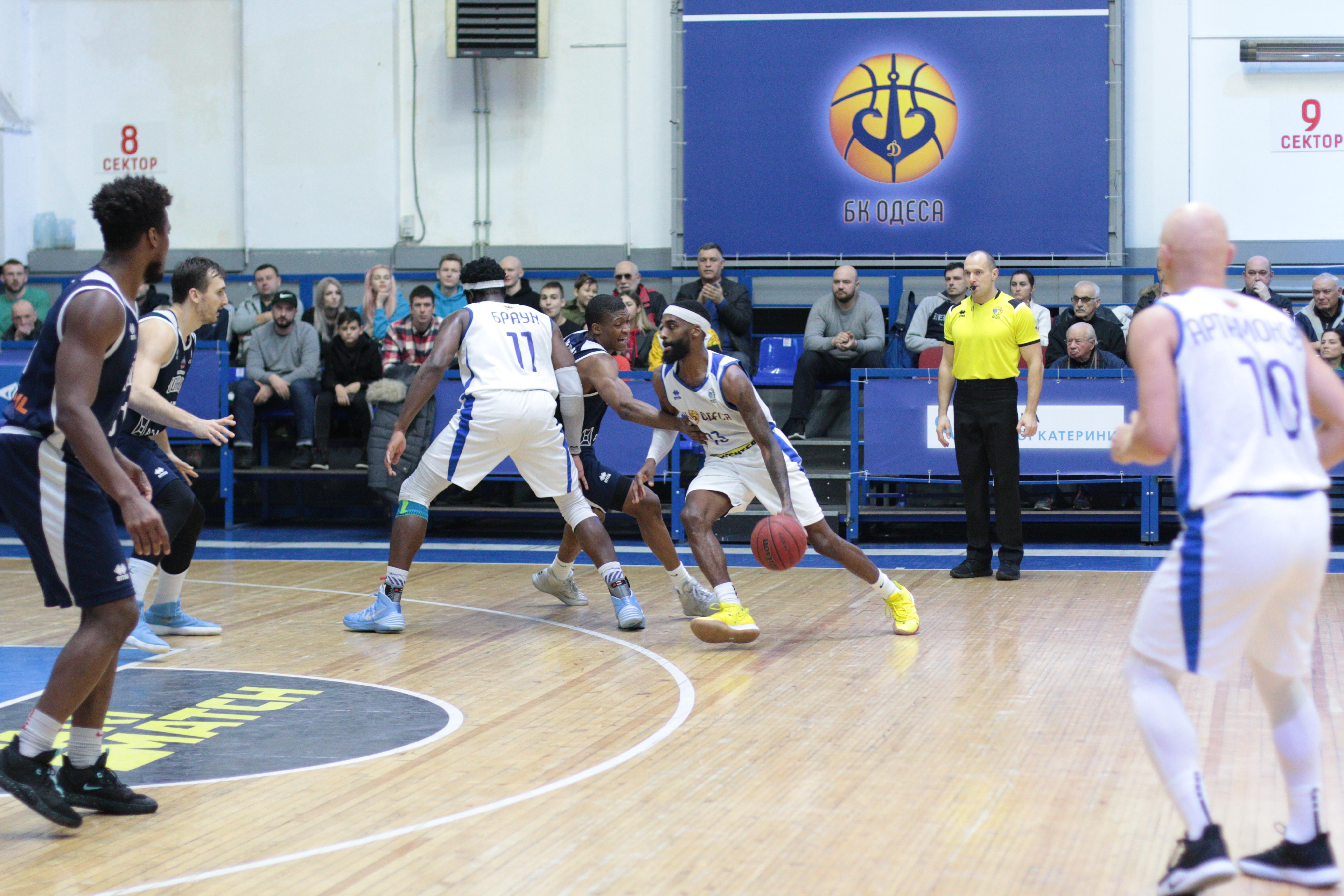 40 очок Мессі принесли Одесі перемогу над Харківськими Соколами