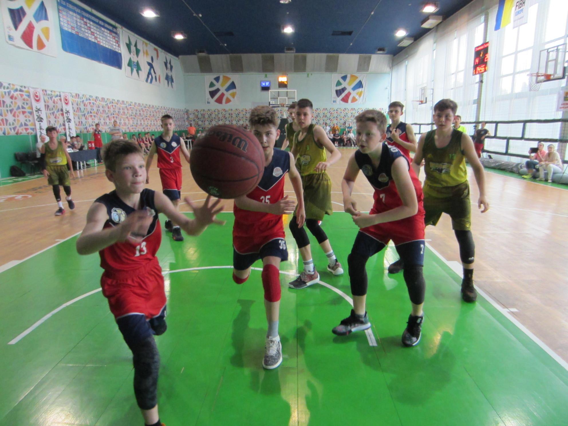 ВЮБЛ (юнаки-2006): шість команд відіграли матчі туру