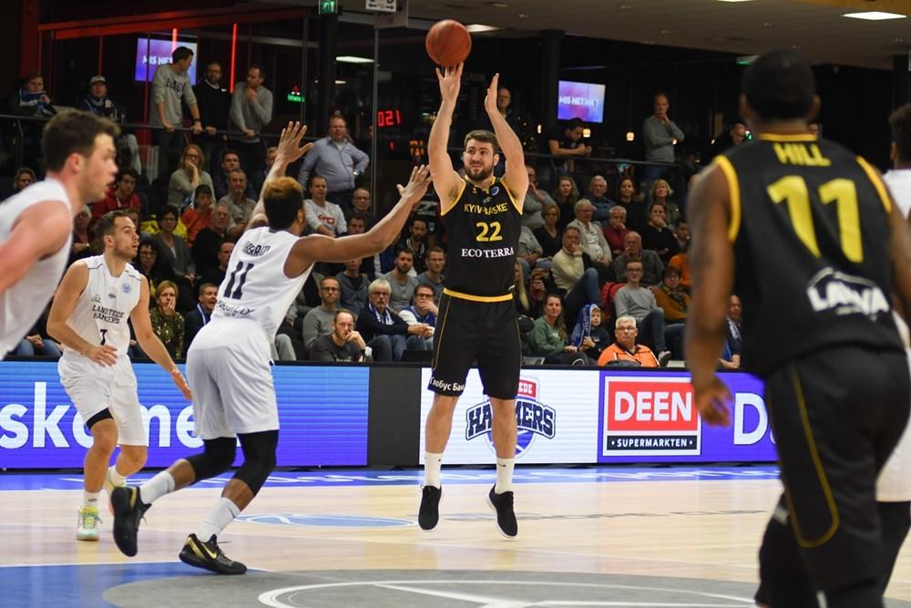 Київ-Баскет зіграє в Палаці спорту проти чемпіона Нідерландів