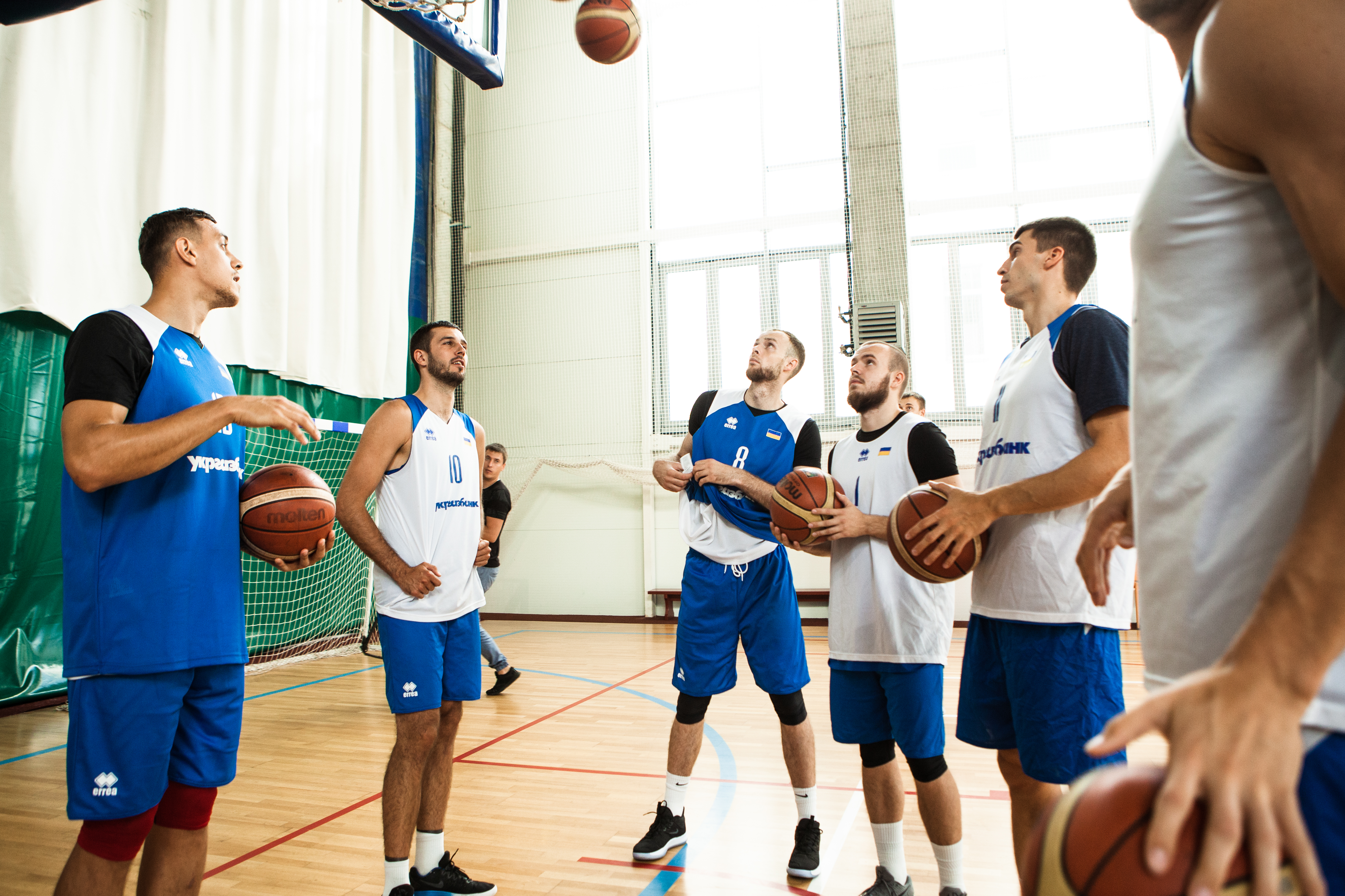 Визначено план підготовки чоловічої збірної України до перших матчів у відборі на Євробаскет-2021